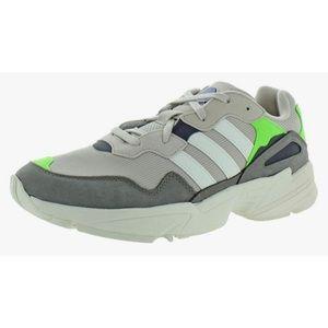 Adidas Yung-96 Running Shoe Sneaker Walking Grey 9